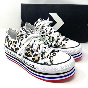 Converse CTAS Platform Layer Low Canvas Animal W